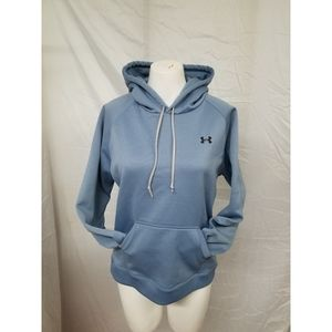 Under Armour,womans M,  blue hoodie